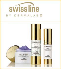 SwissLine products available at BeautyWorks Vancouver Skin Clinic